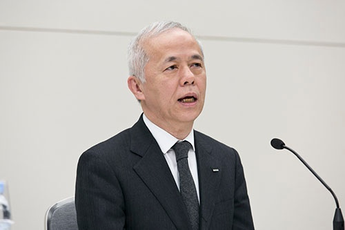 広瀬直己社長、6月の株主総会後に代表権のない副会長に就任する(写真:的野弘路)