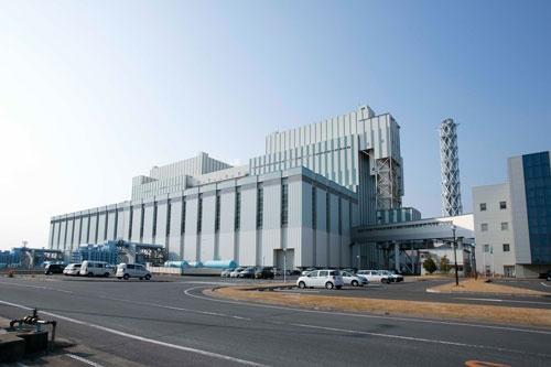 茨城県にある常陸那珂火力発電所(写真:的野 弘路、以下同)