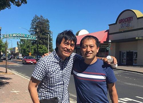中垣さんです。仕事仲間、友達、色んな言い方がありますが、尊敬しています。