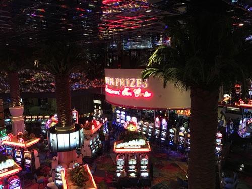 リノのホテルのカジノ、壮観です