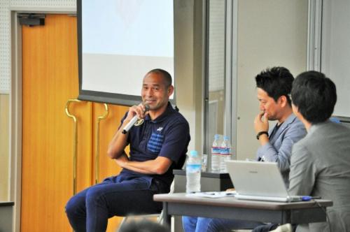 シーエー・アドバンスの平川義修社長との対談では、「失敗財産」などの話題で盛り上がった