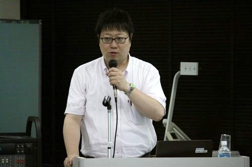 日本政策投資銀行参事役の桂田隆行さん