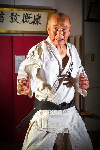 士心館の林悦道館長(写真撮影:菅野勝男)