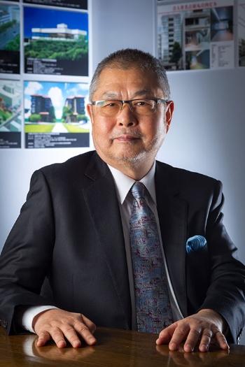 合人社グループの福井滋会長(写真撮影:菅野勝男)