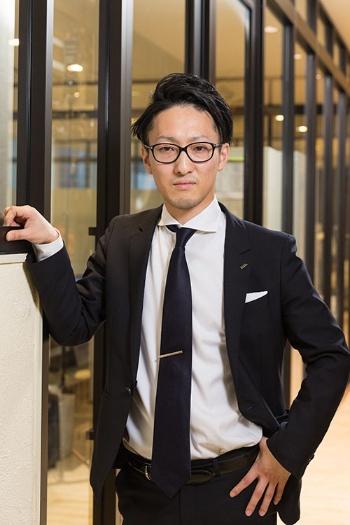 グラフィックホールディングスの山本壮一社長(写真撮影:吉田サトル)