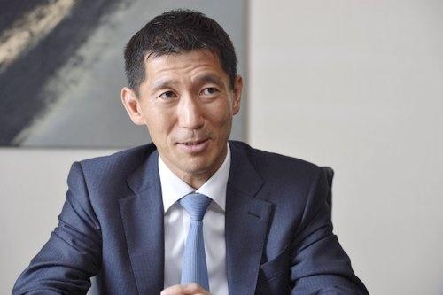 ベインキャピタルの杉本勇次・日本代表(写真:大槻 純一)