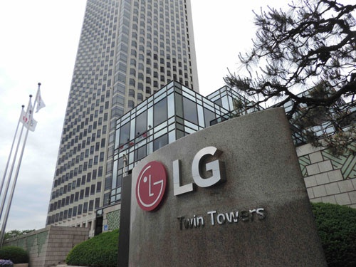 ソウルにあるLG電子の本社