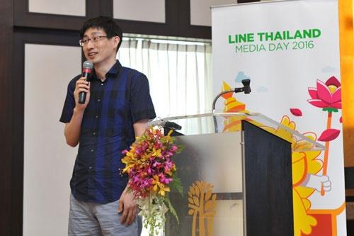 今年5月、タイのメディア向けイベントに初めて顔を出したLINEの慎ジュンホ取締役。日本ではその存在すらあまり知られていない