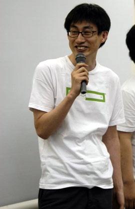 2008年、第2次ネイバージャパンに合流した直後の慎ジュンホ氏