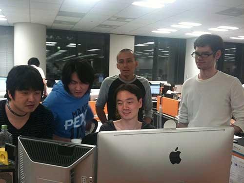2011年6月、アップストアに「LINE」が登録された瞬間、当時の技術陣に笑みがこぼれた