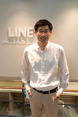 LINE取締役CGO(最高グローバル責任者)の慎ジュンホ氏