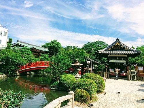 祇園祭の発祥地、神泉苑