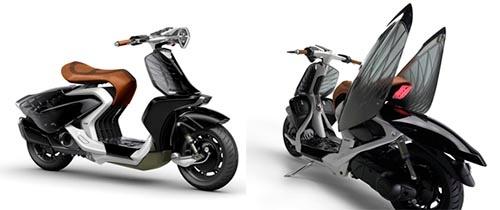 ヤマハ発動機が2016年4月に発表した、アジア市場の女性向けのコンセプトモデル「04GEN」