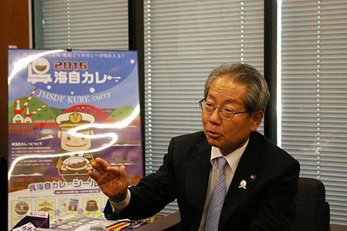 医療費の適正化に力を入れてきた広島県呉市の小村和年・市長