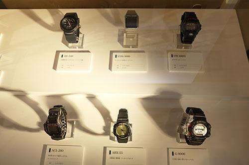 <b>カシオ計算機は1970年代から多機能デジタル時計を開発・販売していた</b>(写真:都築 雅人)