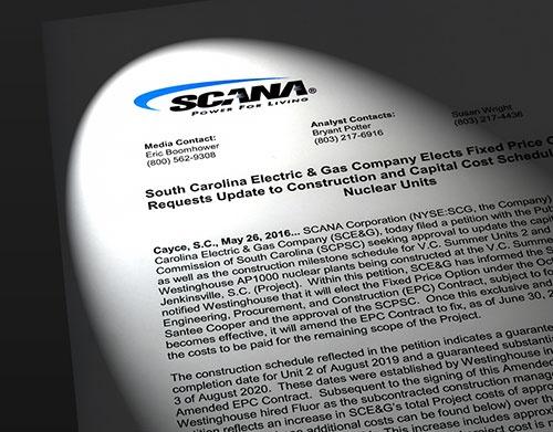 米スキャナ電力が2016年5月26日に配信したプレスリリース