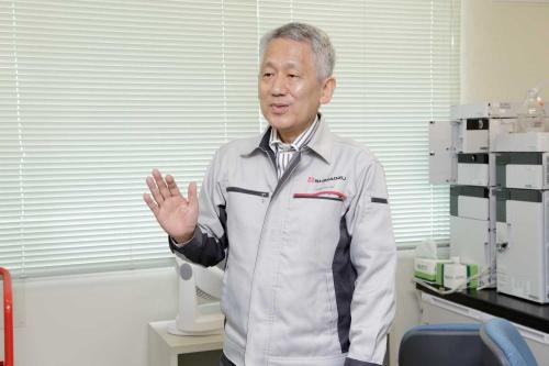「日本にはイノベーションを起こせる素地がある」と話す田中氏