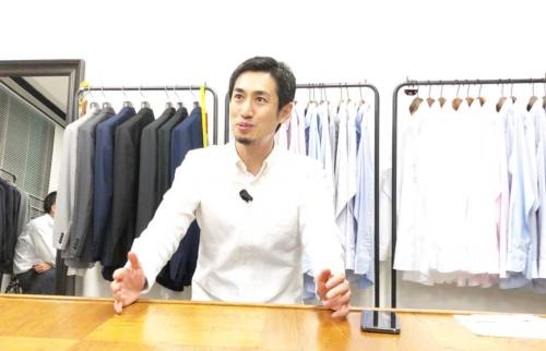 ライフスタイルアクセントの山田敏夫CEO(最高経営責任者)