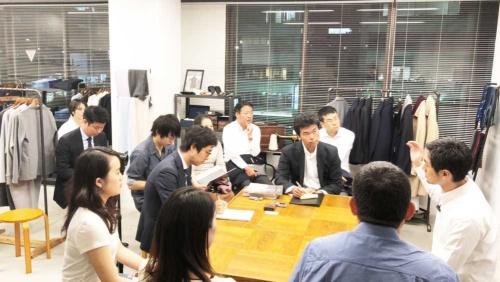 山田CEOに話を聞くオープン編集会議メンバー
