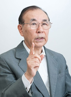 憲法学者の西修・駒澤大学名誉教授(撮影:菊池くらげ)
