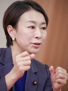 立憲民主党の山尾志桜里・衆院議員(写真:加藤 康)