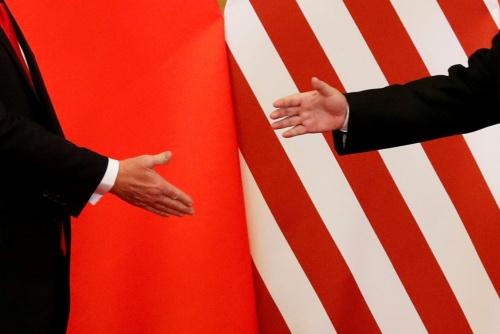 トランプ大統領と習近平国家主席は再び手を取り合えるのか(写真:ロイター/アフロ)
