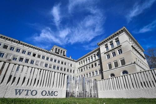 米国のトランプ大統領は、WTOからの離脱を示唆。国連離れも鮮明にし、自由貿易の戦後体制を揺さぶり続ける(写真:AFP/アフロ)