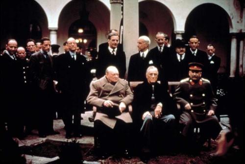 ヤルタ会談は、米ソ冷戦への導火線であった(写真=Everett Collection/アフロ)