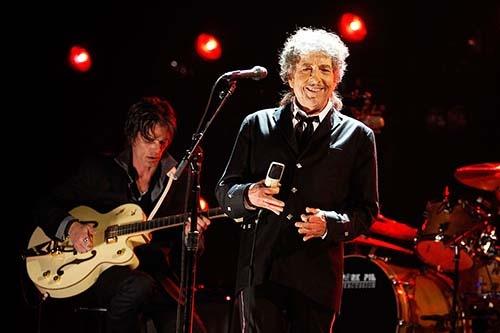 ボブ・ディランの音楽には反骨精神が貫かれている。(写真:Christopher Polk/Getty Images for VH1)