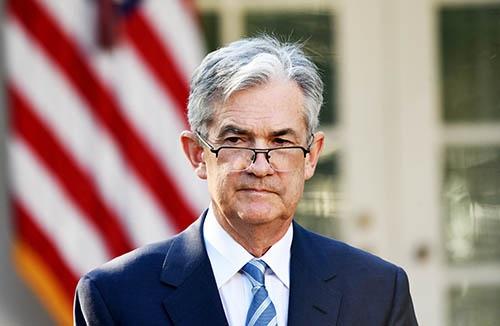 トランプ米大統領によって11月2日、FRBの次期議長に指名された、ジェローム・パウエル FRB理事。(写真:Bloomberg/Getty Images)