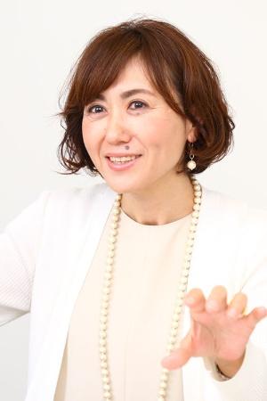 ランクアップの岩崎裕美子社長(撮影:北山宏一、以下同)