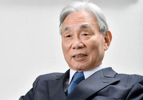 葛西敬之(かさい・よしゆき)氏<br>東海旅客鉄道名誉会長。1940年生まれ。63年東京大学法学部卒、日本国有鉄道入社。69年米ウィスコンシン大学経済学修士号取得。86年職員局次長。「国鉄改革3人組」の一人。87年JR東海発足とともに取締役に就任。95年社長就任。2004年会長、14年名誉会長。今年、28年ぶりに代表権が外れる(写真:高木茂樹)