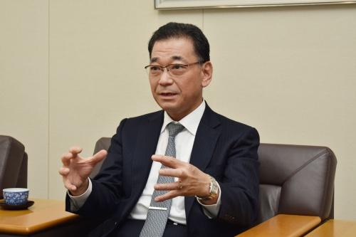 リニア開発本部長の寺井元昭・JR東海常務執行役員