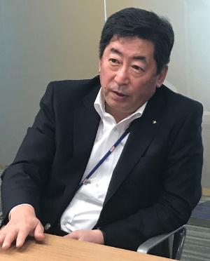 日本水産の的埜明世取締役専務執行役員
