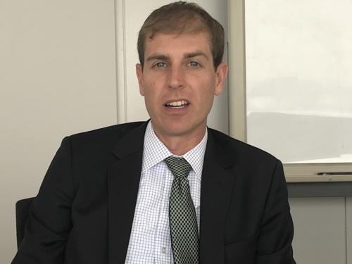米国のNGOでマグロの資源量について研究するジェイミー・ギボン氏
