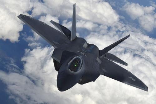 米ロッキード・マーチンが開発した「F22」。「米空軍史上最高の戦闘機」の異名を取る
