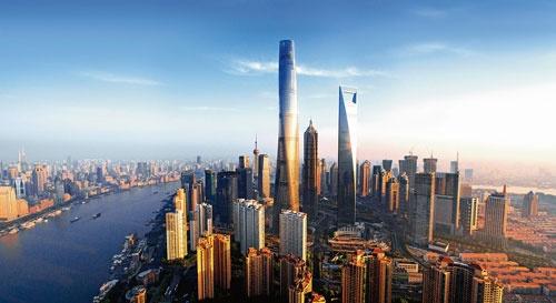 ゲンスラーは2015年に完成した上海中心大廈(上海タワー)の設計で世界から注目を集めた。世界の名立たる設計事務所が参加したコンペでの勝利だった(写真:Blackstation)