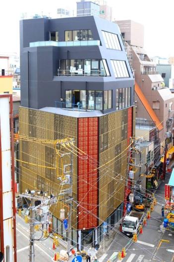 2018年10月10日にグランドオープンする重慶飯店本館。7階建てで、創業者を偲ぶプライベートダイニングルームも設ける
