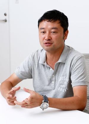 UUUMの市川義典執行役員は、インフルエンサーを活用したい企業が目立って増えていると指摘する(写真:竹井俊晴)