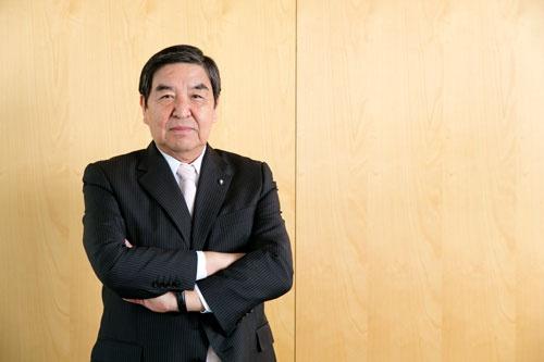 「AbemaTV」によるネットTV事業への参入を決断したテレビ朝日の早河洋会長兼CEO(撮影:的野弘路)