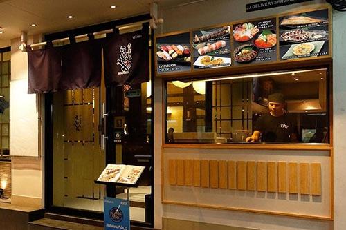 エーピーアールがバンコクに出店した寿司居酒屋「えぞや」