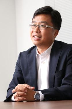 中国・美的集団出身で、東芝ライフスタイル副社長を務める林南氏(写真:陶山 勉、以下同)