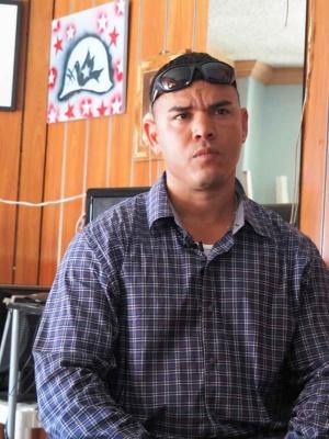 昨年、ティフアナに強制送還されたルイス。それまで12年間、刑務所にいた