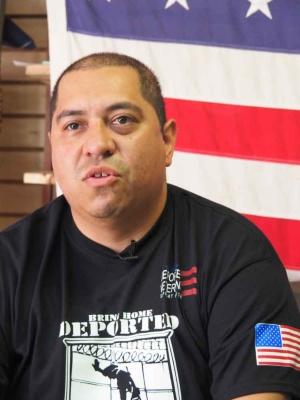 たまたまバンカーにいた弁護士のダニエルもイラクの帰還兵だった