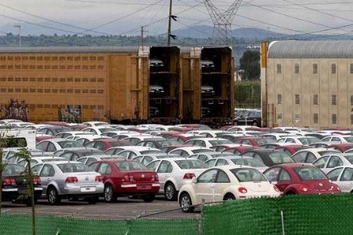 トランプ政権の誕生で流れは変わったが、メキシコ中央高原では自動車メーカーの進出が相次いだ(写真:Bloomberg/Getty Images)
