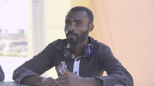 ハイチ出身のテオドール。ブラジルから来た
