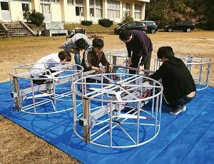 <b>愛知県豊田市の廃校で進むカーティベーターの試作機開発</b>