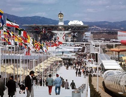 """<span class=""""fontBold"""">77カ国が参加した1970年の大阪万博は1日平均35万人の来場者があった</span>(写真=dpa/時事通信フォト)"""