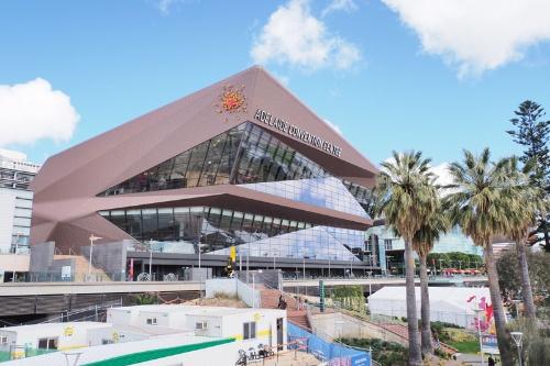 会場のコンベンションセンター