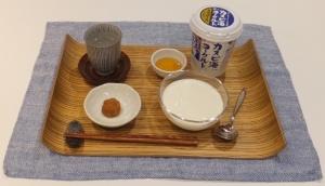 赤塚社長の朝の摂食メニュー